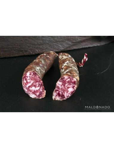 Chorizo Herradura de bellota 100% ibérico blanco